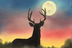 Deer-in-the-Moonlight