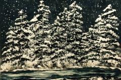 Snowy-Trees-at-Night